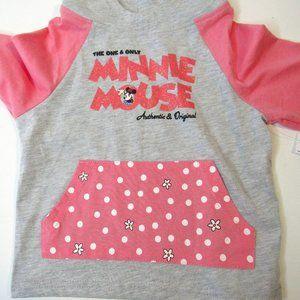 Disney Girls Minnie Mouse Hoodie Sweatshirt